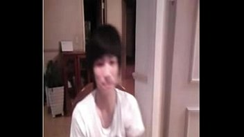 Korean Boy Jacking And Stripping To A Playmate