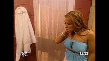 Mickie James Lets Trish Stratus Know She Has Nice Boobs
