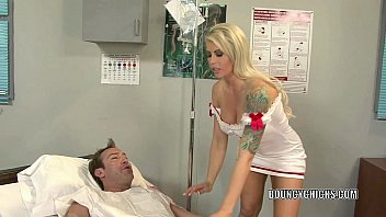 Porn With A Very Good Cock Nurse Makes A Patient Happy