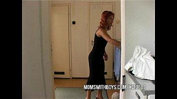 Stepmom Seduces Stepson Into Getting Hard