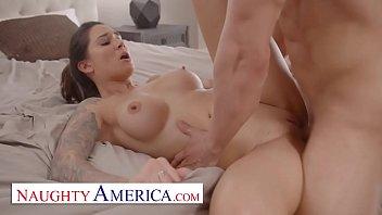 Naughty America - Alexis Zara fucks her trainer and best friend's husband