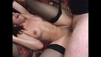 Lusty darkhaired housewife Eva in royal blue lingerie can&#039_t wait any more for hard dong stretching her pussy in all positions