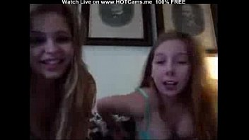Webcam amateur lesbian kissing was