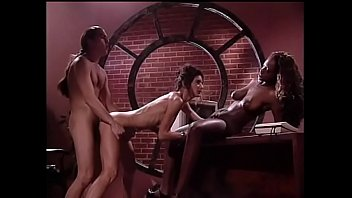 Threesome FMF with an ebony girl and rebecca lodr
