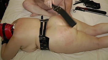 13-Dec-2013 Ass Whipping and Torture (Sklavin/Esclave/slave)