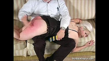 Model Gets Spanked Hard!