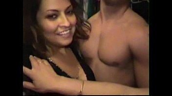 Latina chicas giving handjobs and blowjob at cfnm bachelorette party