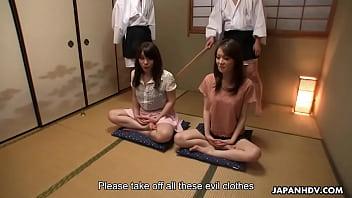 Japanese Babes Anna Kirishima And Kana Suzuki Fucked By Perverts