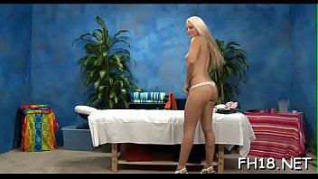 Hawt teen drilled hard by her massage therapist