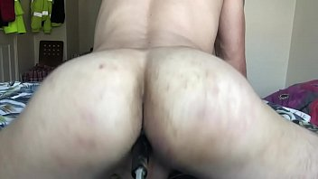 Botty bounce big butt on toy gay anal...