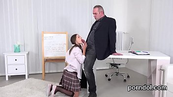 thumb Nice College Girl Is Seduced And Poked By Her Older Mentor