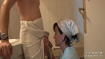 thumb French Mom Seduces Young Guy With Big Cock And