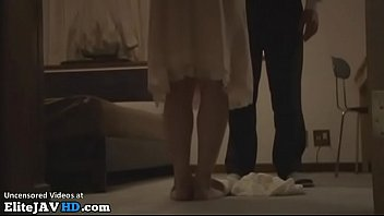 Japanese Milf fucked by husbands friend thumbnail