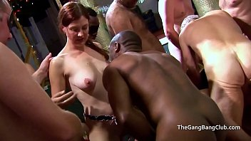 Gangbang at the sex club with a Sarah Jane and Dulcie