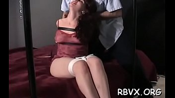 Angelic honey is sitting on her fake penis