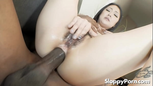 Interracial anal with Saya Song