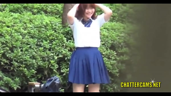 Japanese Schoolgirls Pissing in Public Caught on Hidden Cam