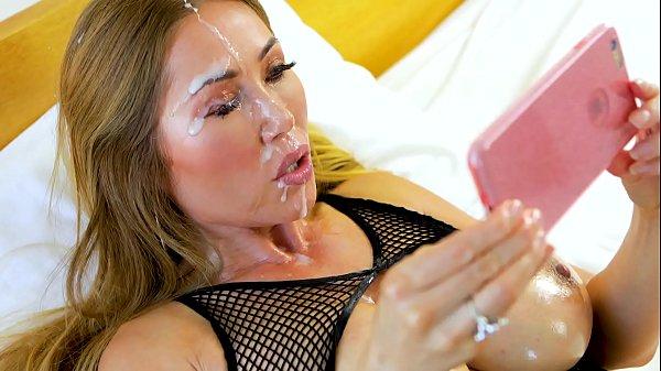 Perfect POV Big Tit Kianna Dior Gives POV Blowjob & Gets Hot Facial