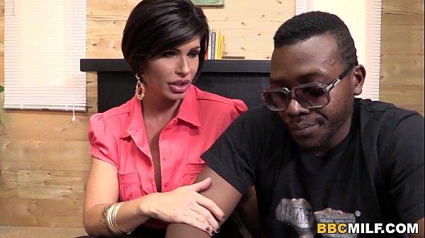 Busty Cougar Shay Fox Having Sex With A Black Guy  thumbnail