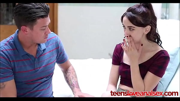 Step Brother Teaching His Teen Sister Anal Sex - TeensLoveAnalSex com