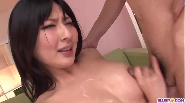 Megumi Haruka wants cum on face and tits after blowjob  - More at Slurpjp.com