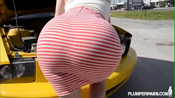 bbwtubecentral com PAWG chubby gets ass fucked real good