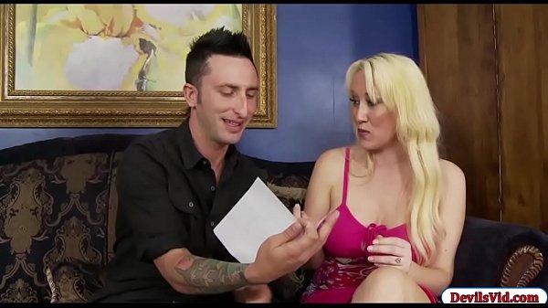 Obsessed stepson fucks her hot stepmom