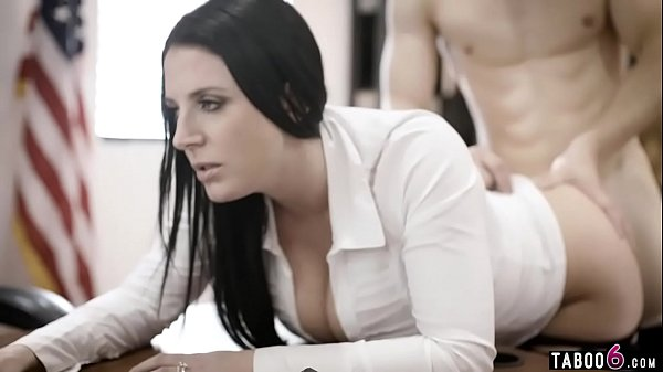 Huge tits councilwoman gets exploited by a businessman