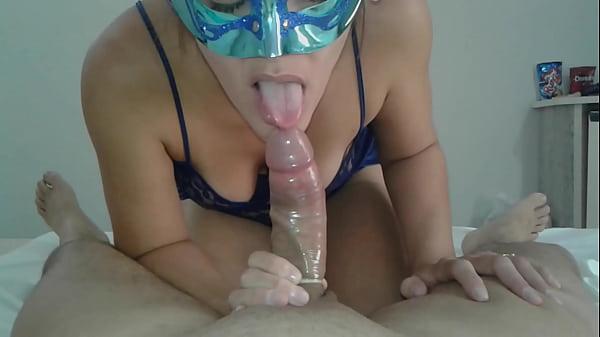 Raissa Prado gozou no sexo oral e deu o cu