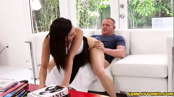 Step dad continue to rail Malina Mars pussy