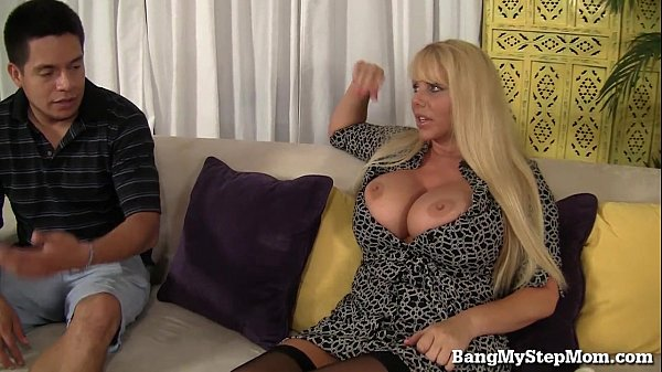 Voluptuous MILF Has Sex With Step-son!