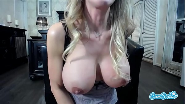 milf brandi love shaking her huge tits and nipples in sexy masturbation vid