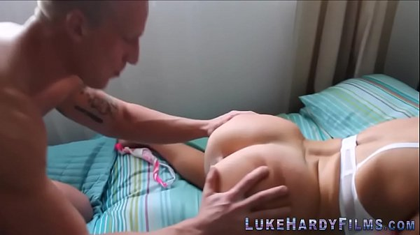 Busty blonde brit licked