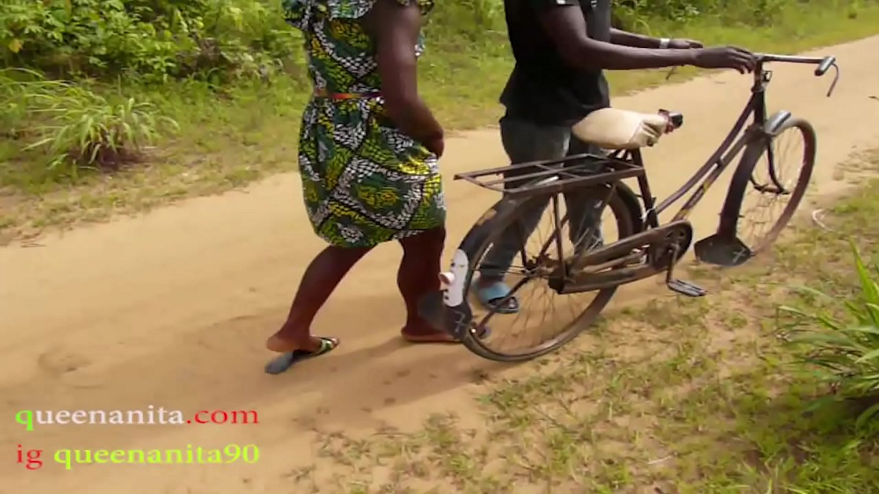 The Only Guy Man Who Own Bicycle In The Village Fucked All The Village Girls And People Wives In The Bush  - 10