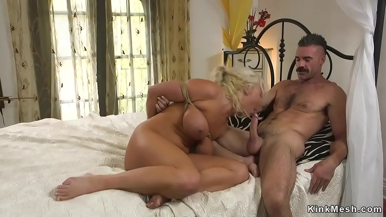 Blonde Big Tits Fucked Kitchen