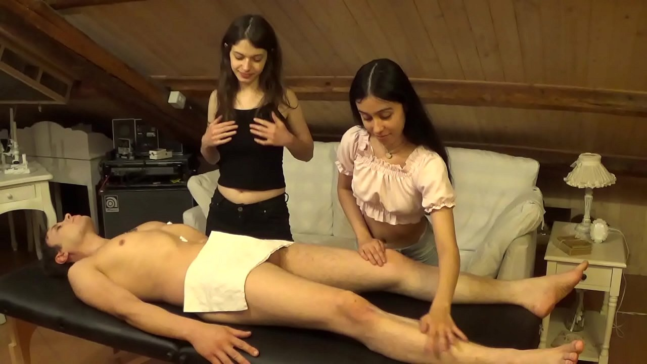 Accidental Facial On Melody After A Sexy Double Massage And Hard Fuck  - 10