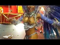paulina reis com peitões no carnaval rio de janeiro - musa do unidos de bangu