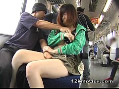 Japanese Public Asian Sex in the Train