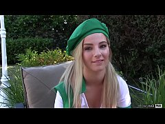 Bella Rose is a horny blonde scout with some sw...