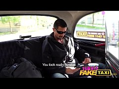 Female Fake Taxi Legend Tommy Gunn sucked and f...