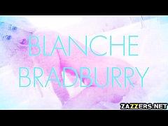 Keiran Lee screwing Blanche Bradburry from behind