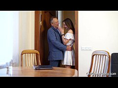 Old Goes Young - Teen Carol seduced by a man th...
