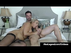 Blonde Angel Allwood Gets A Huge French Cock By...