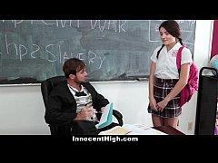 InnocentHigh - School Girl (Adria Rae) Pressure...