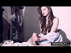 TEENFIDELITY Elena Koshka Squirts On Hard Cock