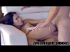 Sensual hardcore seduction for very young teen
