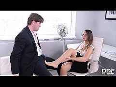 Foot fetish porn ends in loads of cum all over ...