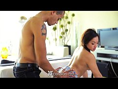 Passion-HD - Pretty Asian girl Morgan Lee passi...