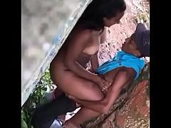 Spy Hidden Cam Outdoor Fuck