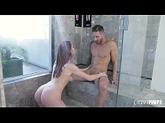 All Natural Redhead Beauty Lacy Lennon Gets Fuc...